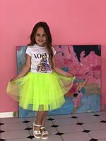 """Нарядная фатиновая юбка """"Жемчуг"""" от производителя, фото 1"""