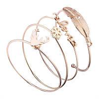 """Многослойный браслет """"Vonnor Jewelry"""" из ювелирного сплава, фото 1"""