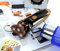 Электробритва Gemei Gm-8010 (роторная) для сухого и влажного бритья, фото 1