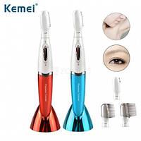 Автономный стайлер для зоны бикини и бровей Kemei KM-8188 для стрижки и поддержания формы волос.