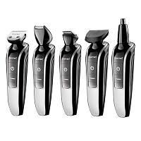 Высококачественный стайлер Gemei Gm-582 набор для стрижки волос и бороды с поворотным регулятором, фото 1
