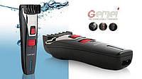 Триммер для бороды Gemei GM-728 аккумуляторный, ножи самозатачивающиеся из нержавейки. Круговой регулятор, фото 1