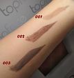 Карандаш для бровей с щеточкой TopFace Eyebrow Pencil PT-611, фото 2