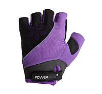 Велоперчатки женские PowerPlay 5281D M Purple