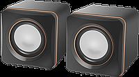 Колонки для компьютера 2.0 Defender SPK-33 2x2.5 W, USB, Black