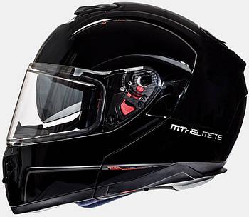 Мотошлем MT ATOM gloss black