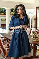 Пальто с поясом Gepur Villa 8814