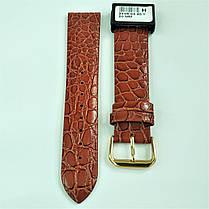 20 мм Кожаный Ремешок для часов CONDOR 244.20.03 Коричневый Ремешок на часы из Натуральной кожи, фото 2