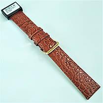 20 мм Кожаный Ремешок для часов CONDOR 244.20.03 Коричневый Ремешок на часы из Натуральной кожи, фото 3