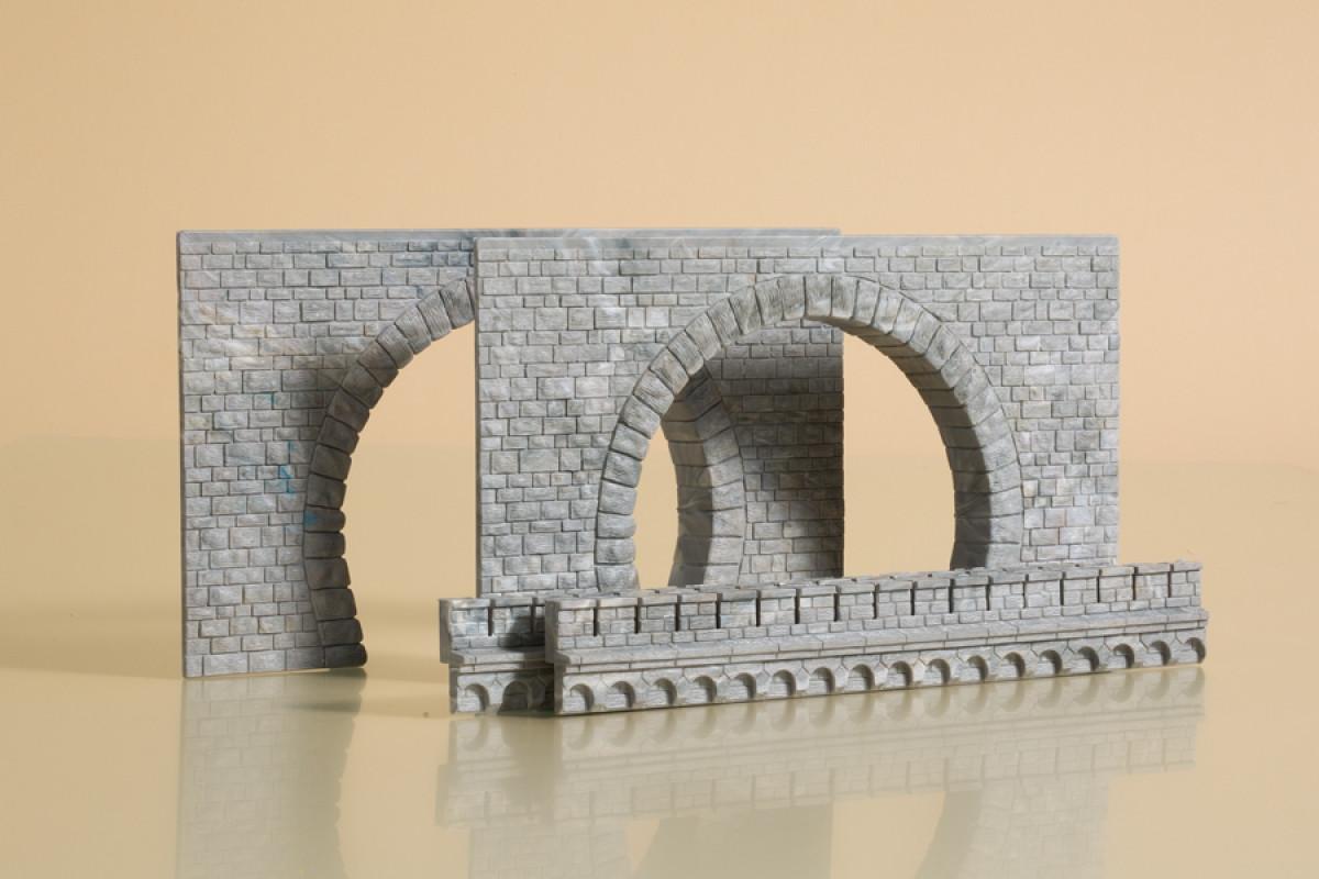 Auhagen 41587Однопутный тоннельный портал/ H0 1:87
