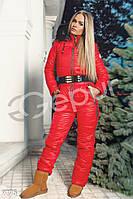 Яркий зимний комбинезон Gepur Salut 9775