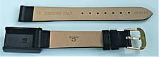 14 мм Кожаный Ремешок для часов CONDOR 188.14.01 Черный Ремешок на часы из Натуральной кожи, фото 3