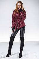 Приталенная демисезонная куртка Gepur New spring looks 25666