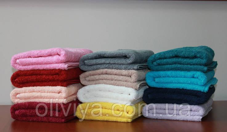 Махровое полотенце для лица бежевое, фото 2