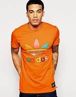 Футболка мужская Adidas orange
