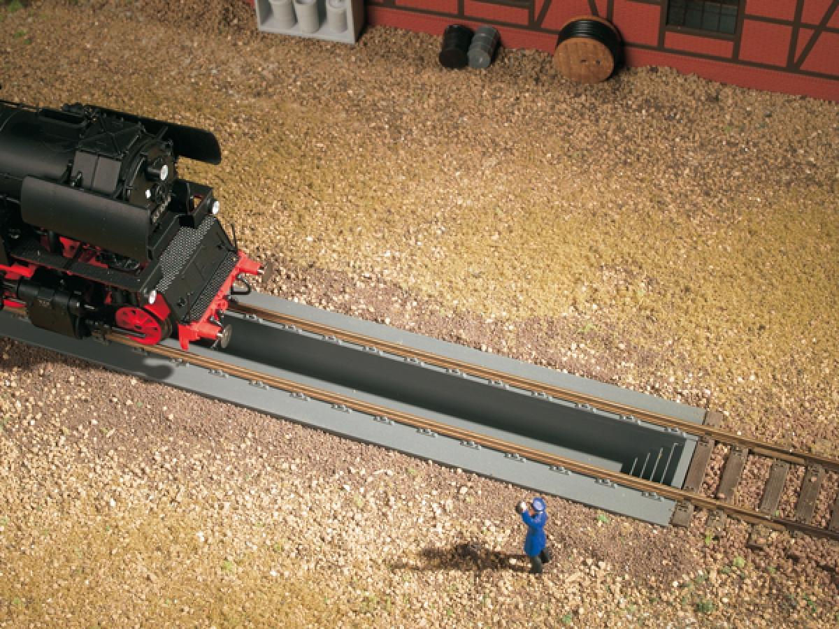 Auhagen 41612 смотровые канавы для локомотивов, масштаба H0 1:87