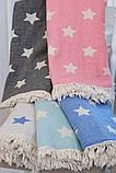 Полотенце-пештемаль пляжное Stars 90х160см Barine, фото 3