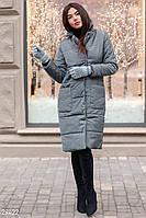 Стеганое пальто Gepur Winter mood 29422