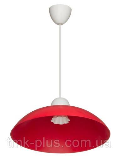 Декоративний стельовий світильник ERKA 1301 60W, червоний