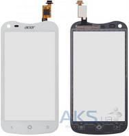 Сенсор (тачскрин) для Acer Liquid E2 Duo V370 Original White