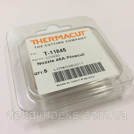 Сопло для плазменной резки 220930 Hypertherm Powermax 45 FineCut, фото 2