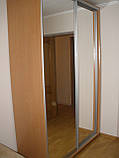 Шкаф купе 2х-дверный стандартный 1000мм на 450мм, высота 2100мм. Одесса, фото 3