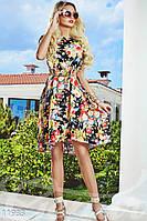 Платье с вырезом квадратной формы на спине Gepur Pool party 11933