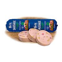 Колбаса Brit Premium Dog Sausage, индейка и горох