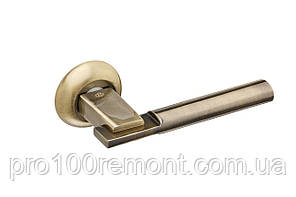 Ручка дверная на розетке GAVROCHE ZIRCONIUМ, фото 2