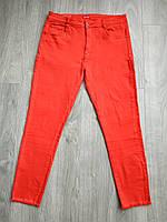 Женские красные джинсы лето, размеры 30-32. Артикул: KB1942-30
