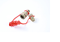 Головка воздушная соединительная универсальная M22 красная M22x1.5 красная ЕВРО 81512206024