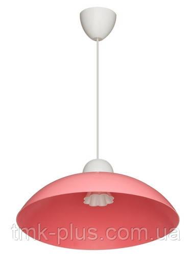 Декоративний стельовий світильник ERKA 1301 60W рожевий