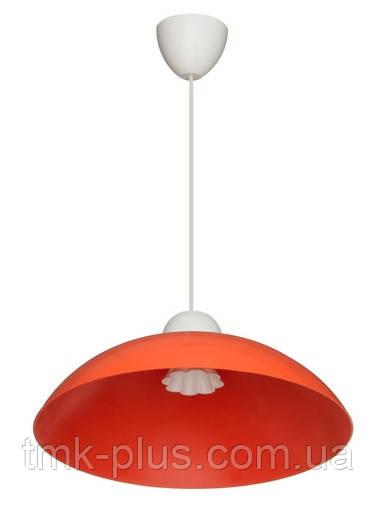 Декоративний стельовий світильник ERKA 1301 60W помаранчевий