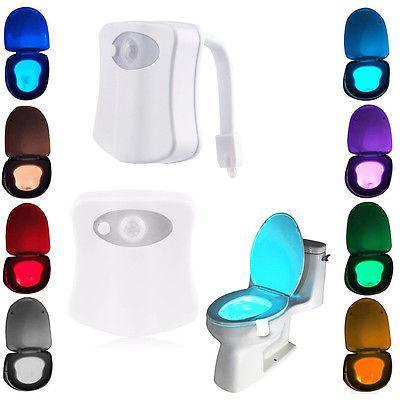 Подсветка для унитаза Lightbowl LED с датчиком движения