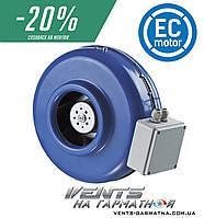 Вентс ВКМ 125 ЕС. Центробежный вентилятор с ЕС-мотором