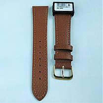 20 мм Кожаный Ремешок для часов CONDOR 177.20.03 Коричневый Ремешок на часы из Натуральной кожи, фото 2
