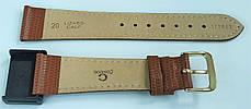 20 мм Кожаный Ремешок для часов CONDOR 177.20.03 Коричневый Ремешок на часы из Натуральной кожи, фото 3