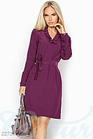Платье с рюшами Gepur Moment 22752