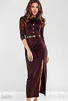 Удлиненное трикотажное платье Gepur Intuition 23872