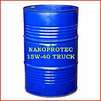 Моторное масло NANOPROTEC 15W-40 TRUCK Mineral, 200 литров