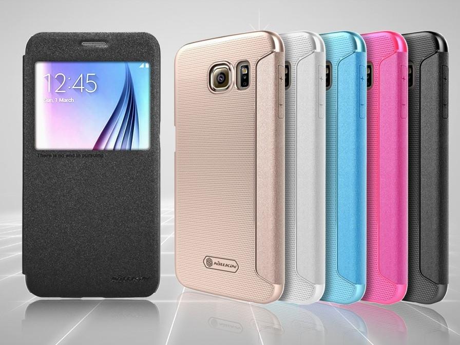 Чехол флип View для Samsung S6 G920 Nillkin Sparkle