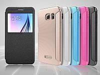 Чехол флип View для Samsung S6 G920 Nillkin Sparkle, фото 1