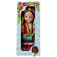 """Кукла """"УКРАЇНКА"""" в свитке, в коробке"""
