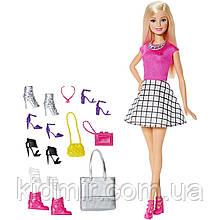 Кукла Барби Модница с ообувью и аксессуарами Barbie Shoes and Accessories