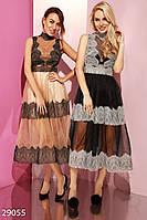 Вечернее пышное платье Gepur Сhristmas сampaign 29055