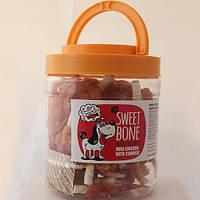 Лакомства для собак Sweet Bone Мясо Курицы с говядиной мини 500 г (66452)