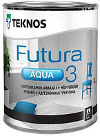 Грунтовка адгезионная Futura Aqua 3 Teknos, 2.7л