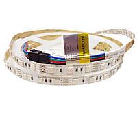 RGB світлодіодна лента12 вольт 12.9Вт 560лм 5050-60-IP20-RGB-10-12 RD0060AQ  Рішанг11691