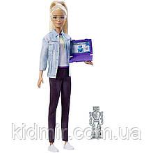 Лялька Барбі Інженер робототехнік Barbie Robotics Engineer FRM09