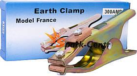 Клемма «масса» 300А (French type) с латунными губками